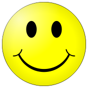 smiley glad